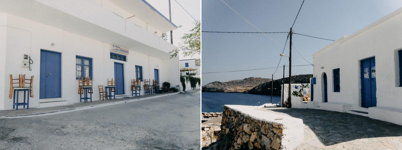 Dorf Potamos auf Antikythira