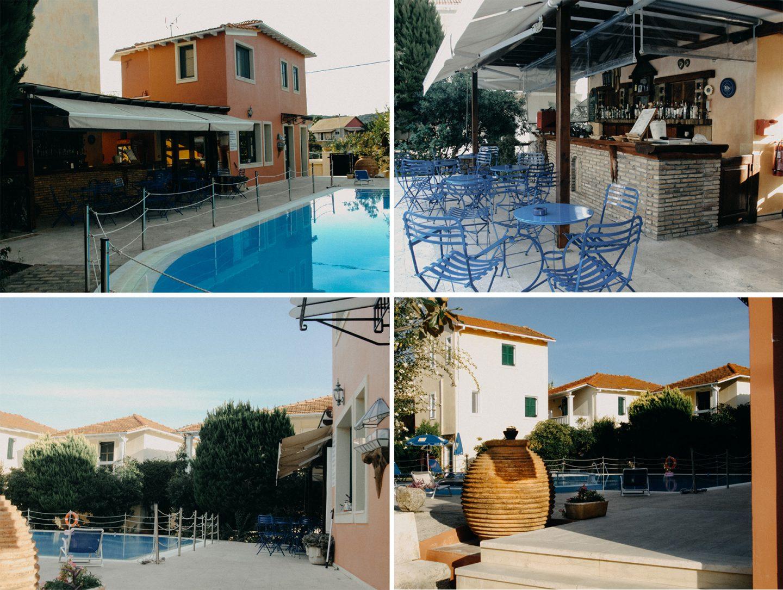 Die Unterkunft Alkyon Apartments in Lygia, Lefkada ist wunderschön, es gibt ein Pool, eine Poolbar und Tassia die Besitzerin ist herzlich und einfach wundervoll.