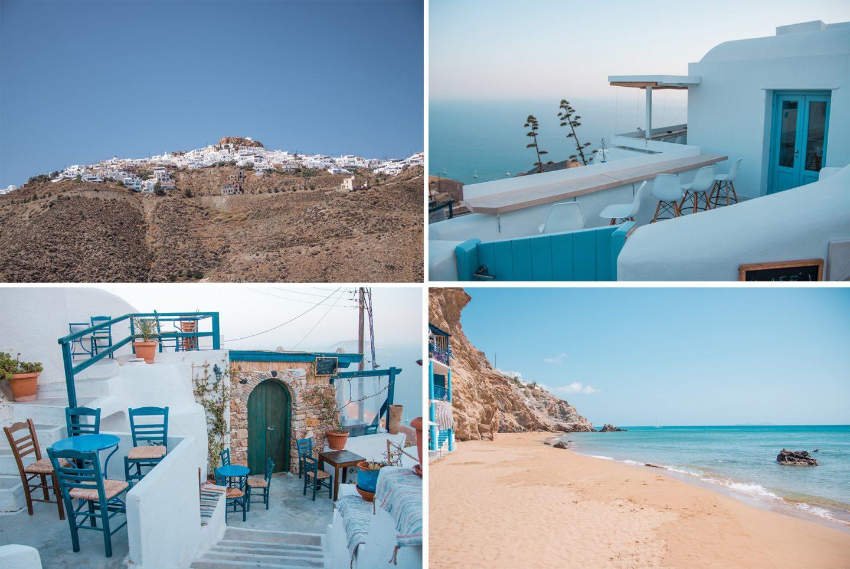 Insel Anafi - Chora und Livadi Beach unser Geheimtipp von Inselhüpfen 2017