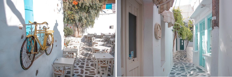 Naxos - Gassen in Old Town