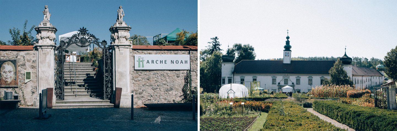 Arche Noah und Schloss Schiltern