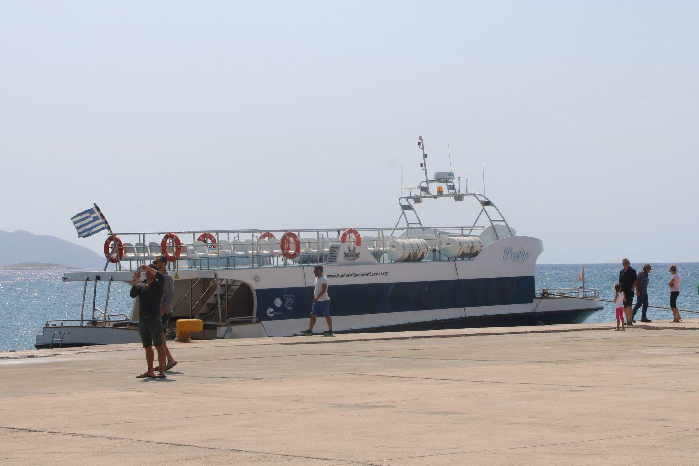 Ersatzboot nach Anafi