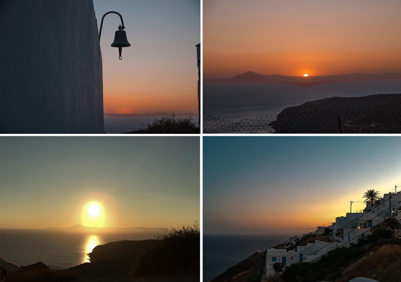 magische Sonnenuntergänge