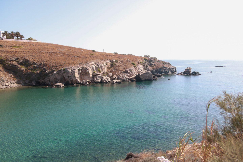 Syros- fünf wunderschöne Strände. Hier Ambela Bucht.