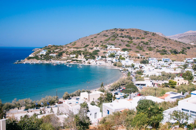 Kini Bucht, einer der schönsten Strände von Syros