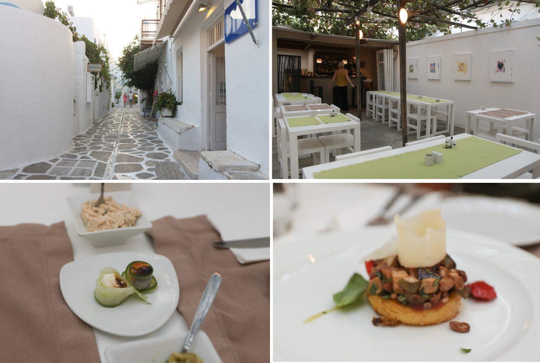 Parikia - Taverne Levantis - ein Genuss, gehobene Küche