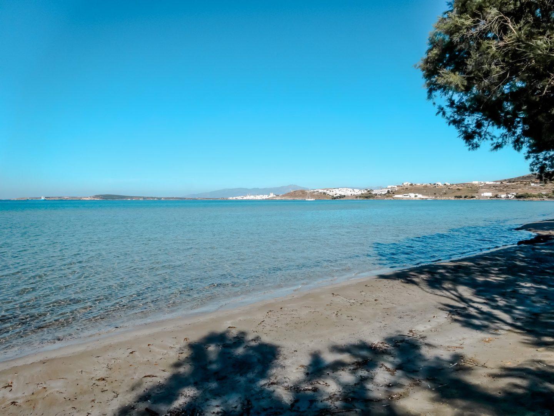 Limnes Beach westlich von Naoussa