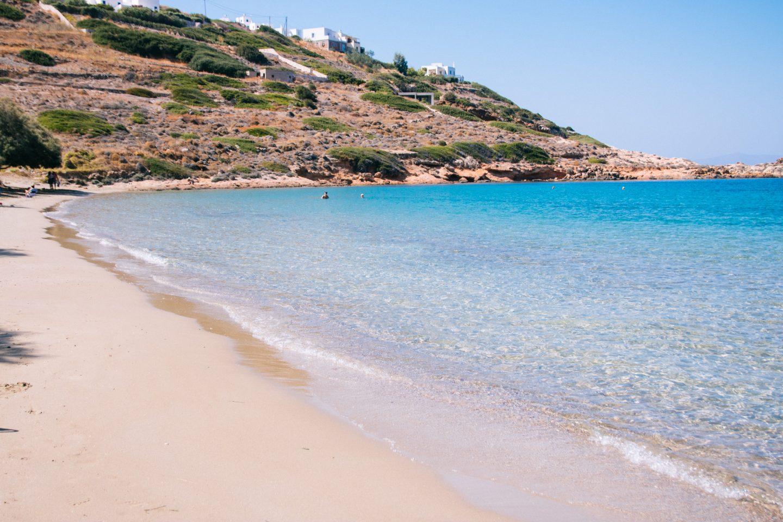 Syros- fünf wunderschöne Strände. Hier, Loto Beach bei Kini.