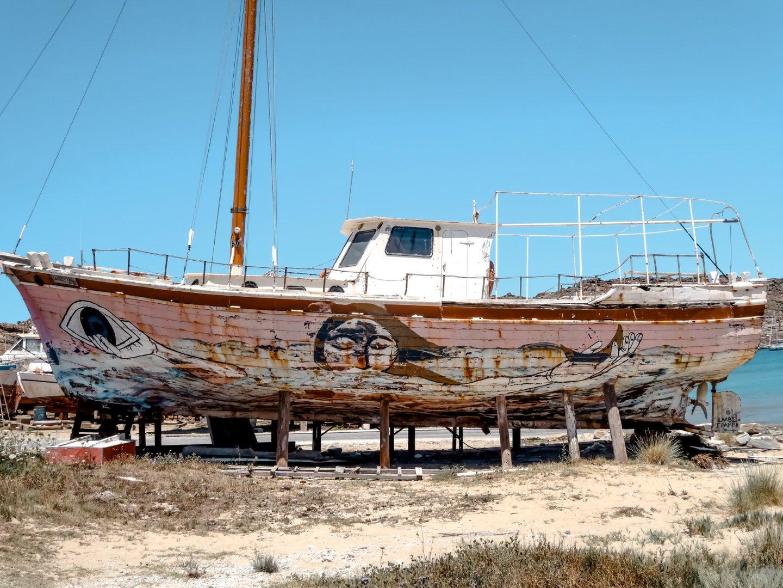 Monastiri Bucht - Schiffswerft