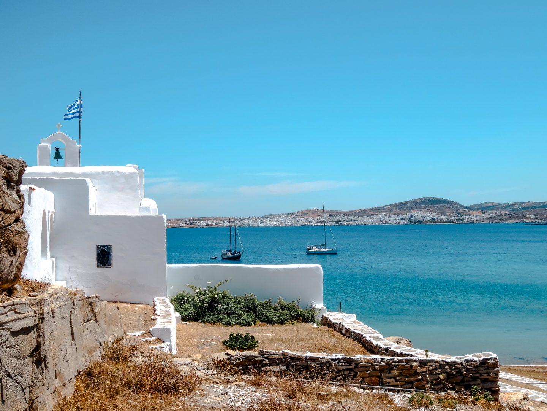 zauberhafte Monastiri Bucht in Paros