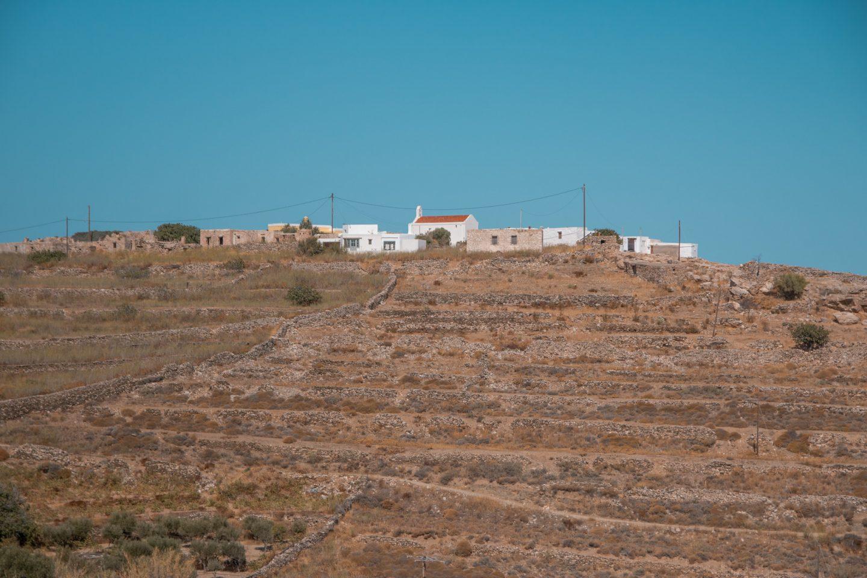 Geheimtipp - Dorf San Michalis auf Syros,. Die Insel hat viele entdeckenswerte Plätze und schöne Strände.