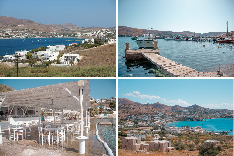 Strände und Buchten Syros