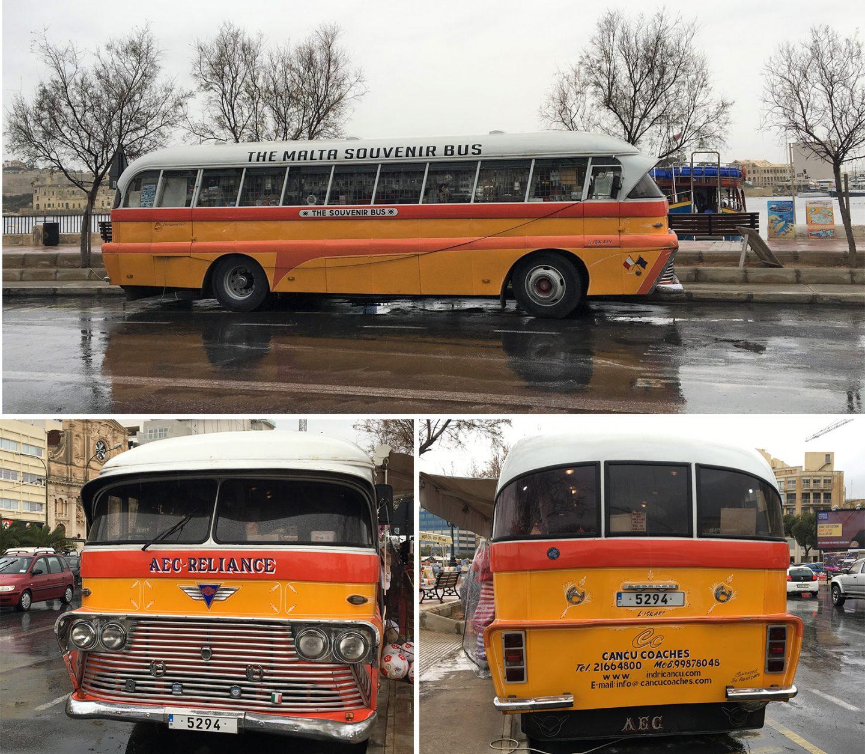 Oldtimerbus von Malta - wird heute als Souvenierbus benutzt