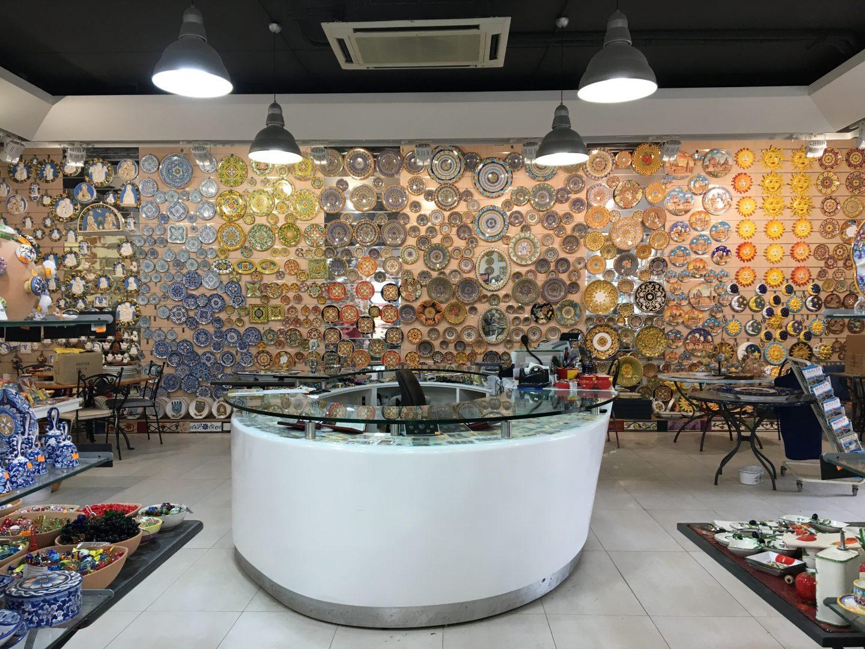 Beeindruckendes Ambiente in der Pottery von Ta Qali