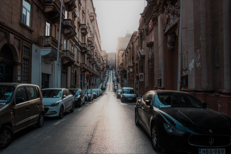 Straßen von Valetta