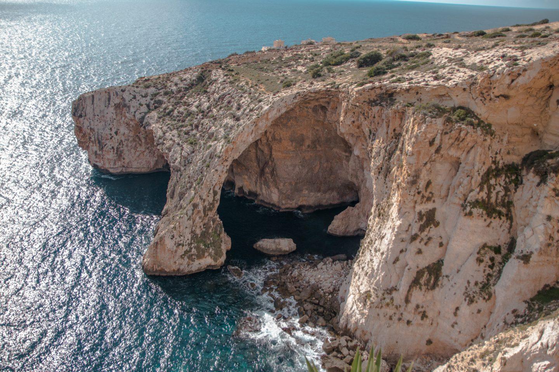 Traumhaft schön, die Blaue Grotte in der Nähe von Wied iz Zurrieq