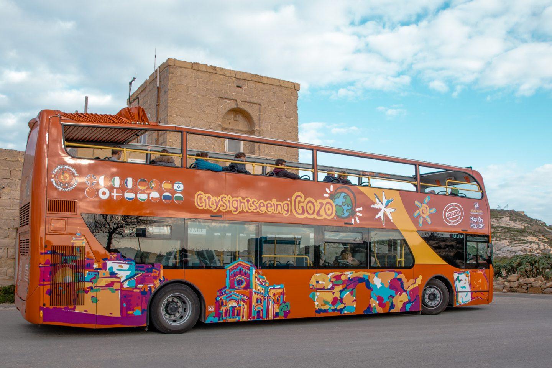 Hop on - hop off Bus Gozo