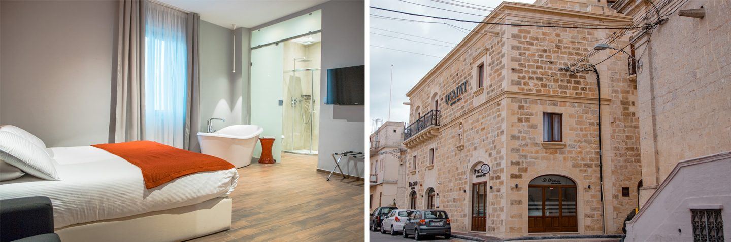 Qaint Hotel in Nadur - mein Highlight