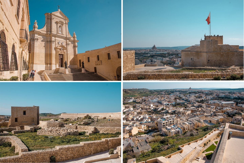 """Zitadelle Victoria - ein """"must"""" auf Gozo"""