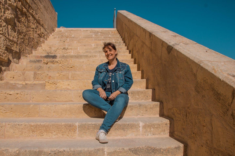 Zitadelle - nur noch wenige Stufen bis ganz oben