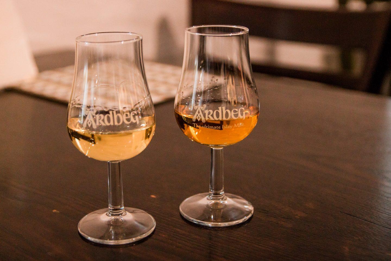 Ardbeg Whisky Destillery ist eine von 9 Destillerien auf der Hybrideninsel Islay.