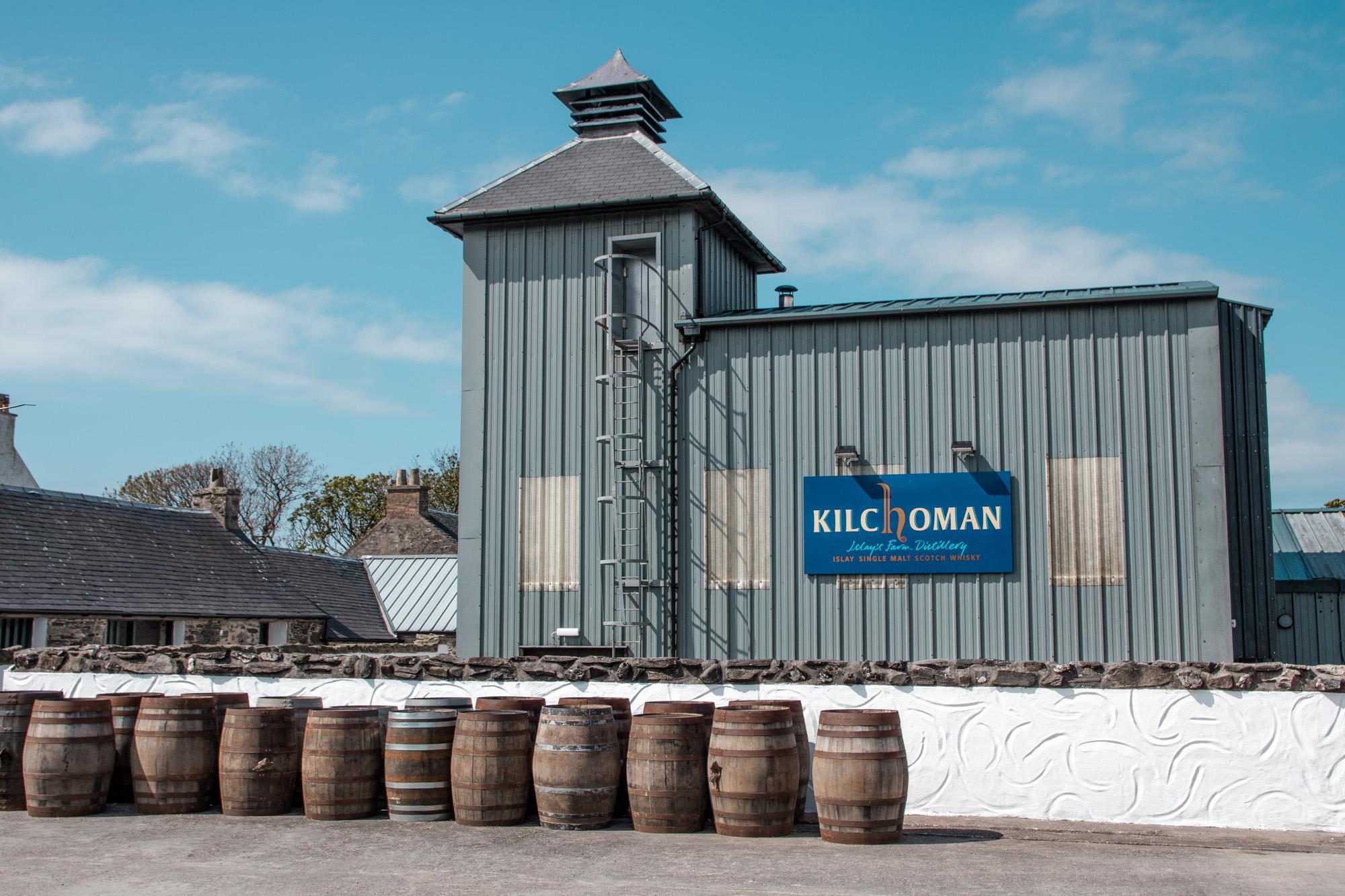 Kilchoman Destillery - Whisky Brennerei auf der Insel Islay, Schottland