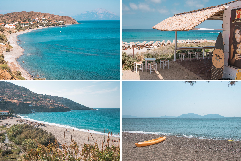 Inselhüpfen in der östlichen Ägäis - wunderschöne Strände im Norden von Ikaria
