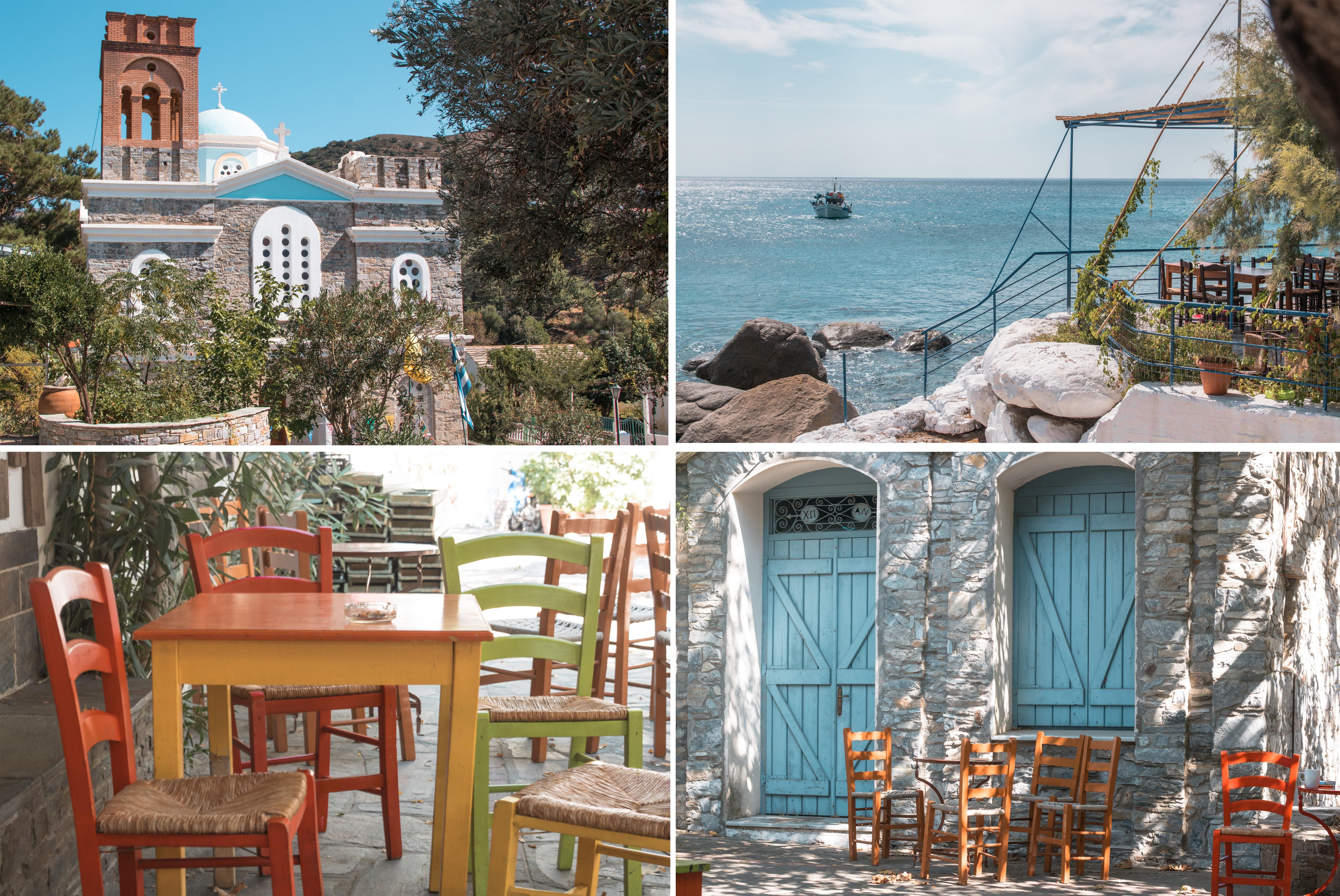 Inselhüpfen Highlights, Tavernen in Ikaria - einfach schön