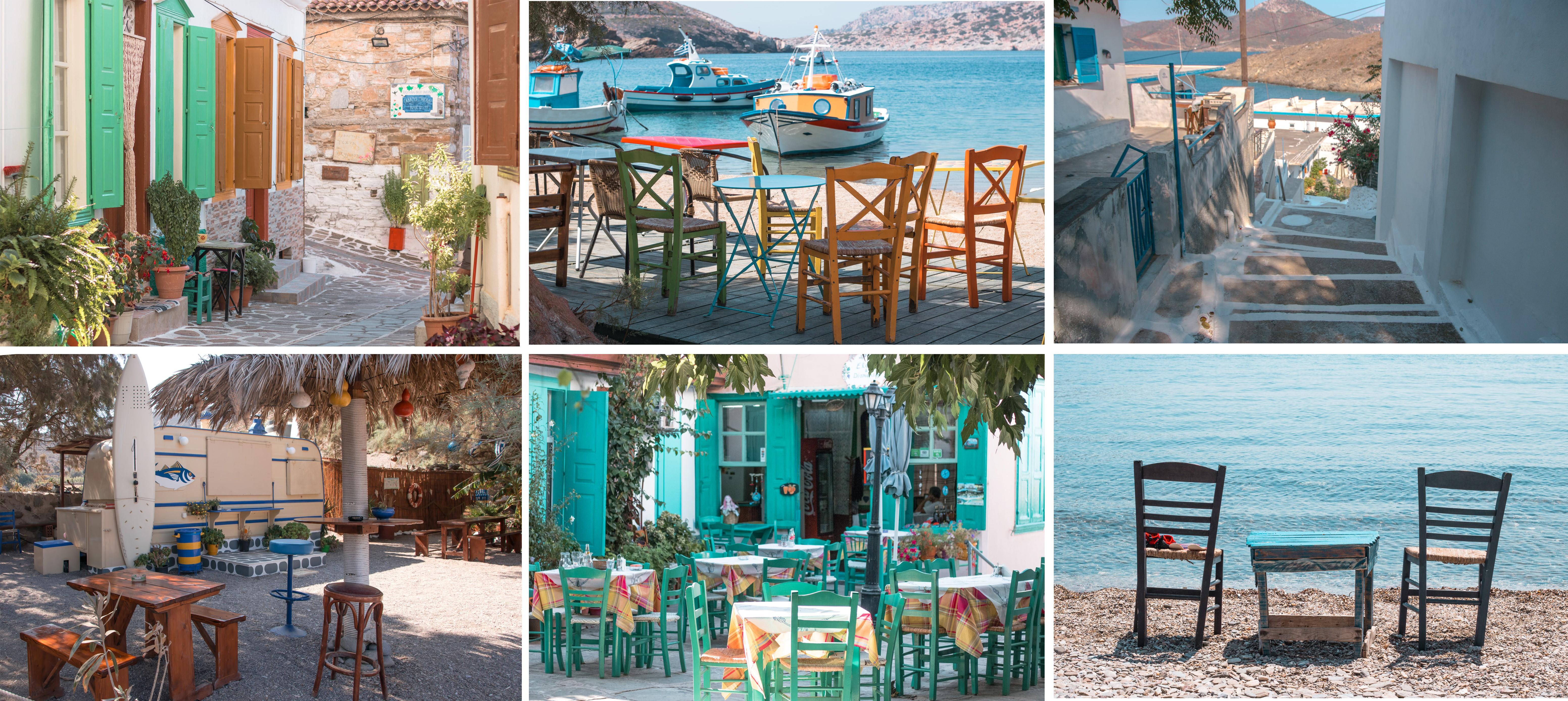 Die Inselroute beim Inselhüpfen, ging über die Inseln Samos - Fourni - Thymena - Patmos - Samos - Ikaria