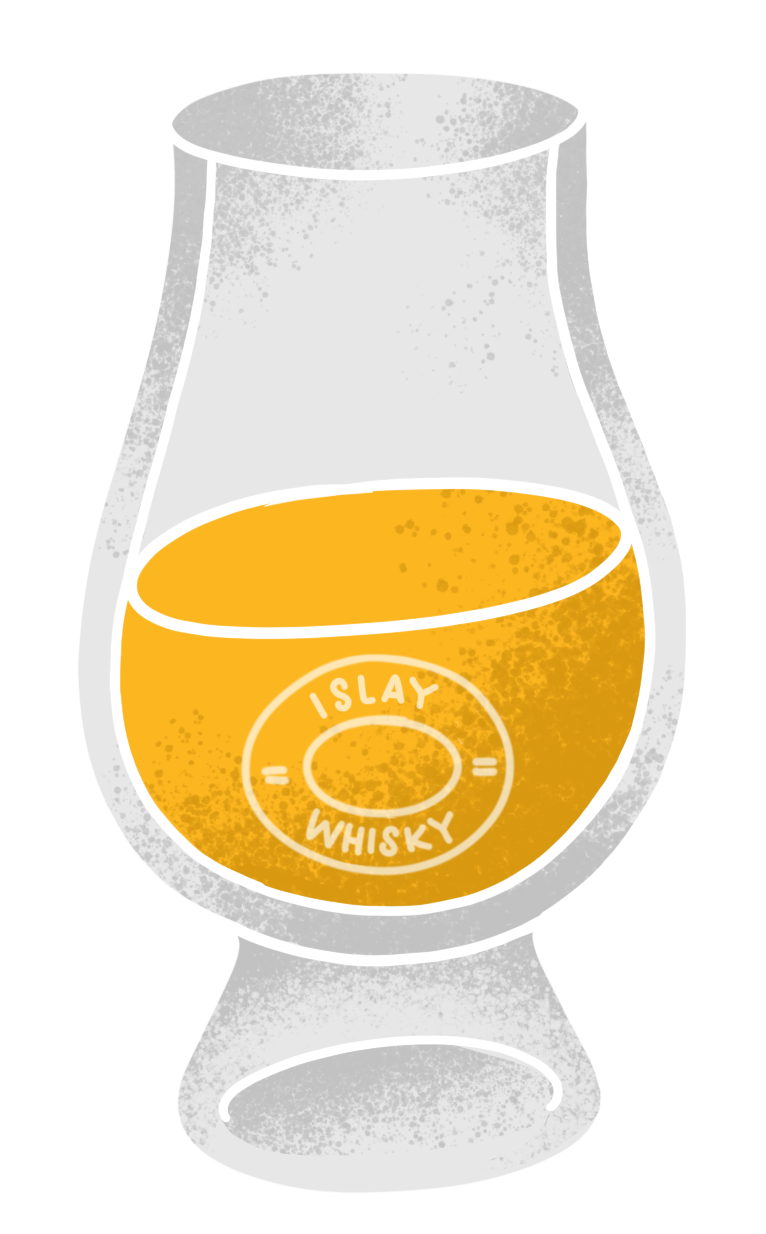 Islay Whisky-Illustration