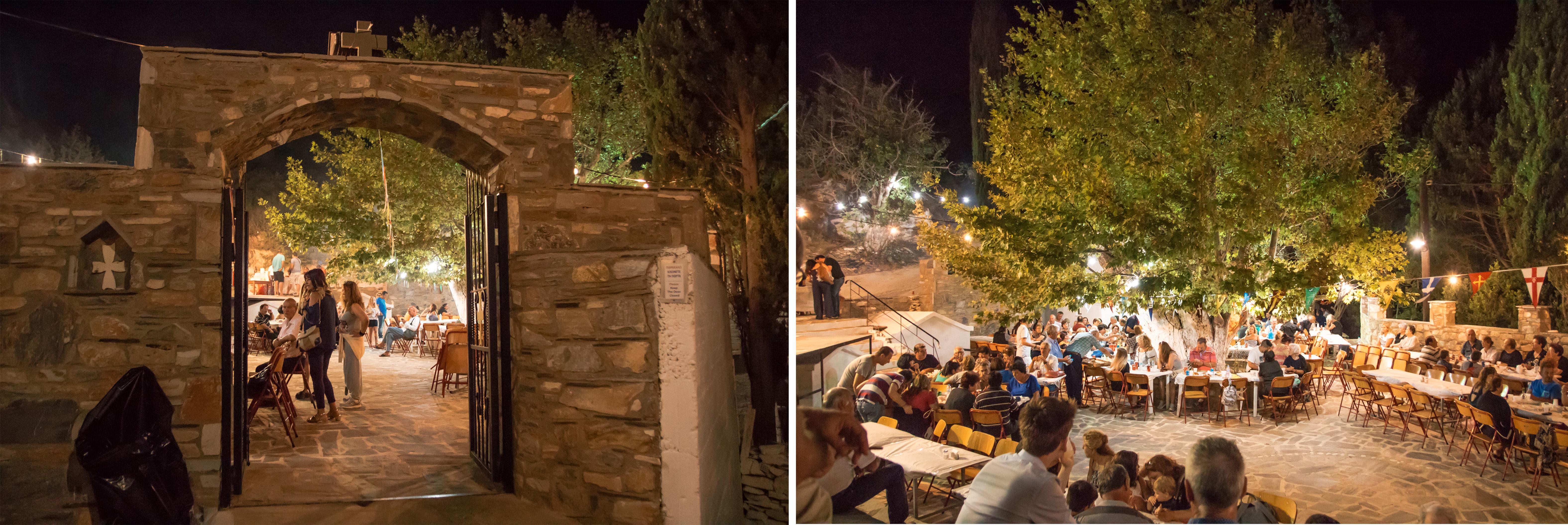 Inselfest auf Fourni - ein schönes Erlebnis mit Essen und Musik