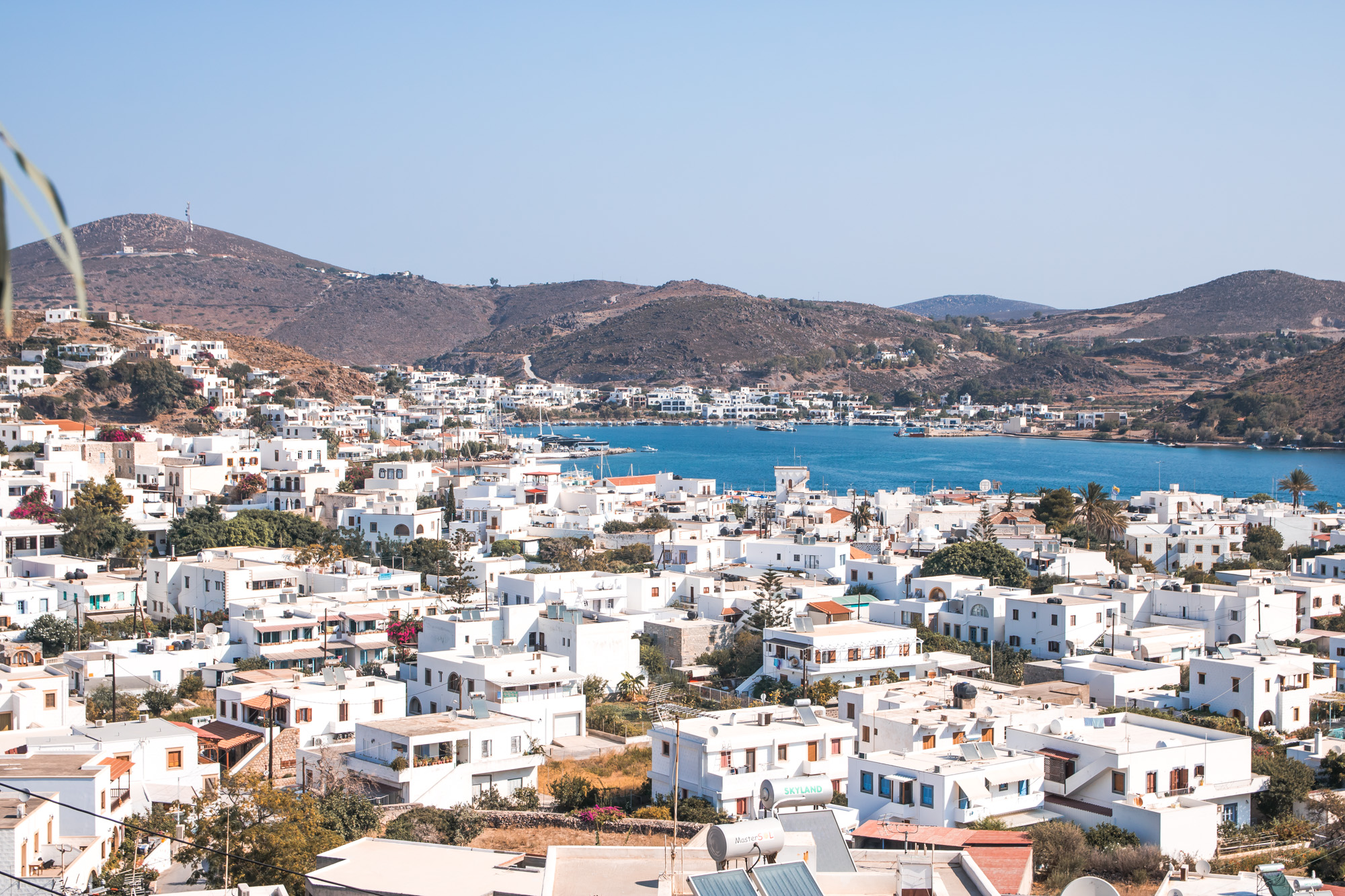 Patmos, Hauptstadt Skala