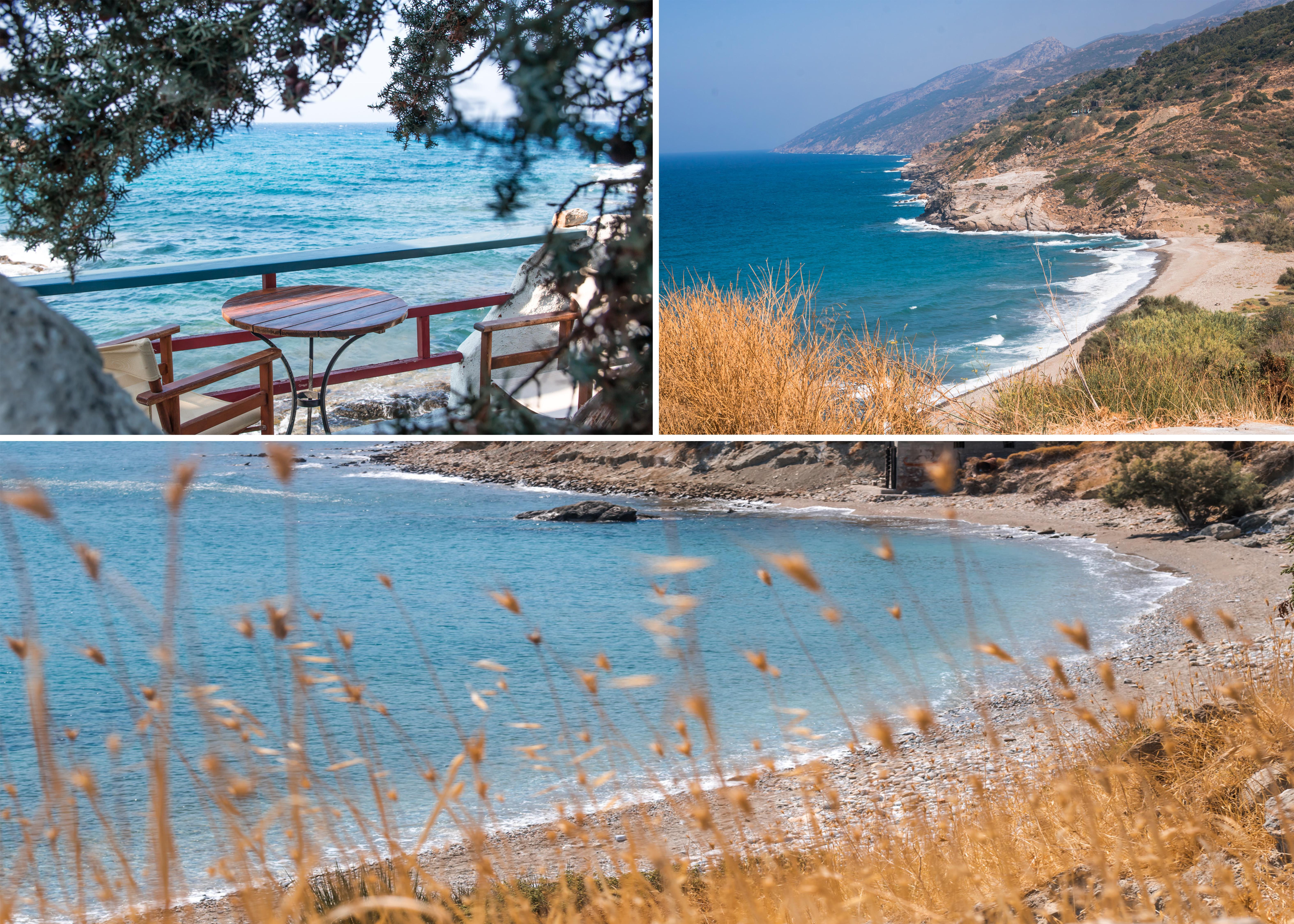 Unterwegs auf Ikaria zu schönen Stränden und gemütlichen Tavernen