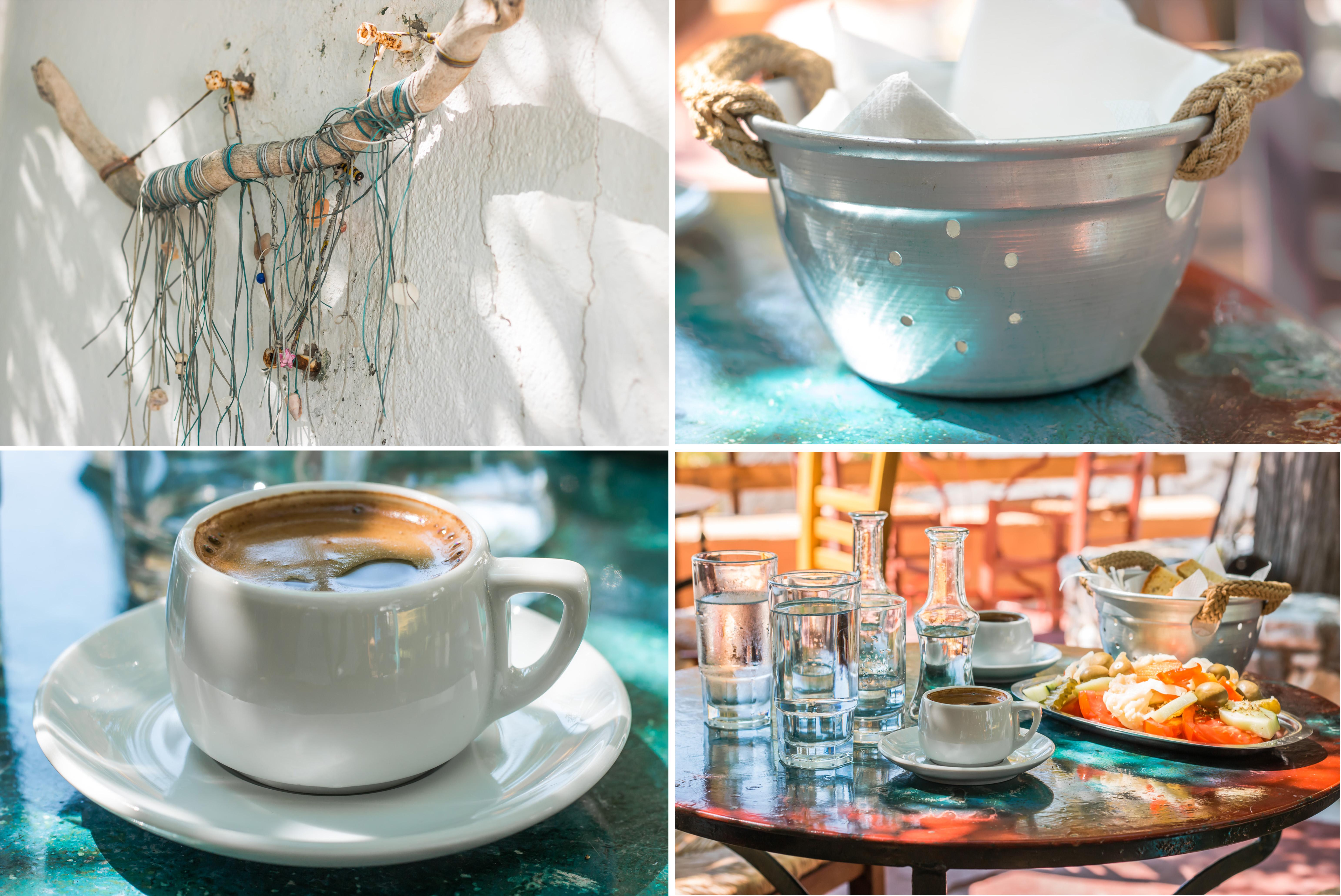 Gemeimtipp - das Kafepantopolio in Magganitis - Kaffee und Mezedes - ein Traum