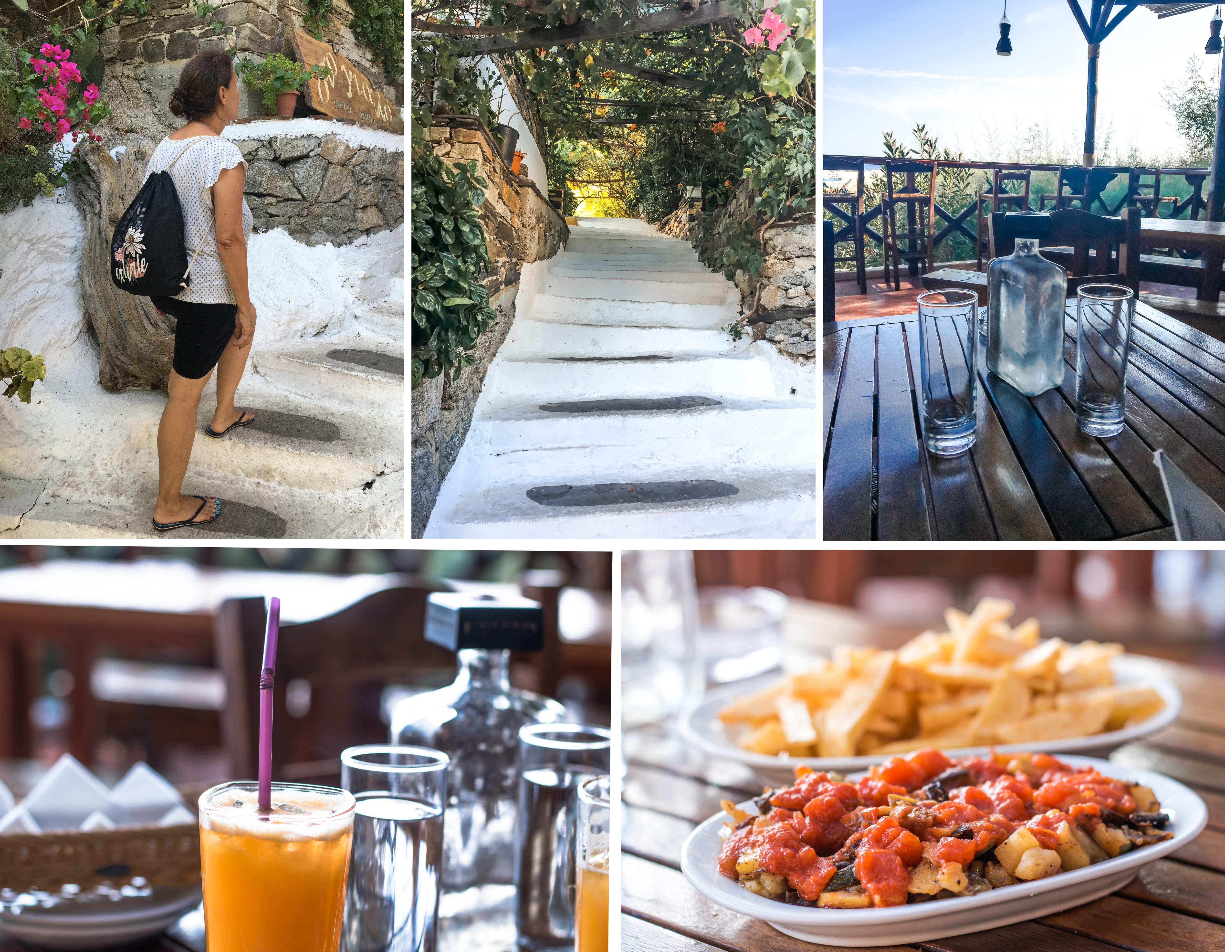 Geheimtipp - die Taverne beim Magganitis Port