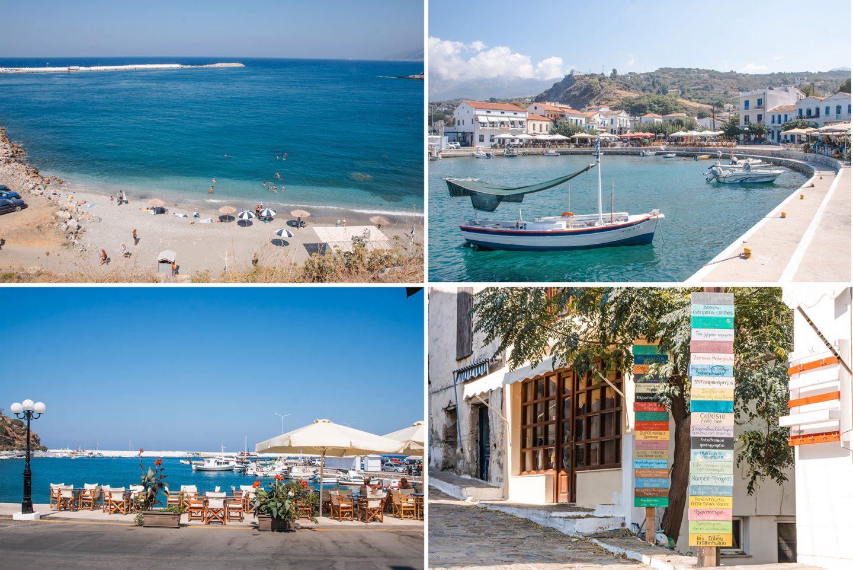 Ikaria Evdilos - zweitgrößte Stadt