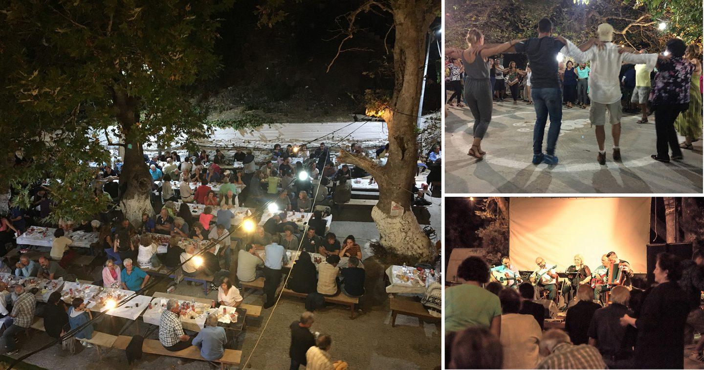 Festival - Panijgyri in Platanos