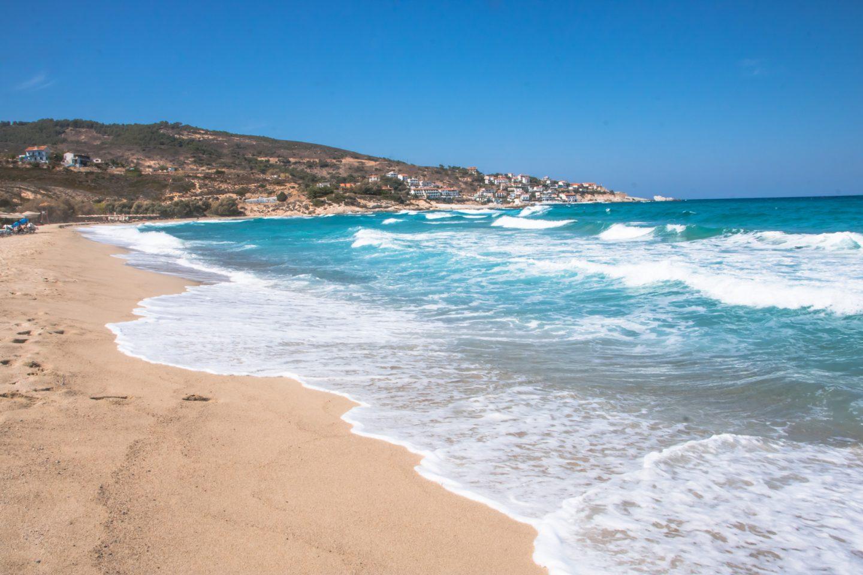 Mesakti Beach im norden von Ikaria