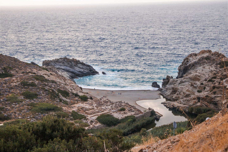 Strand von NAS im Norden von Ikaria - wunderschöne Abendstimmung