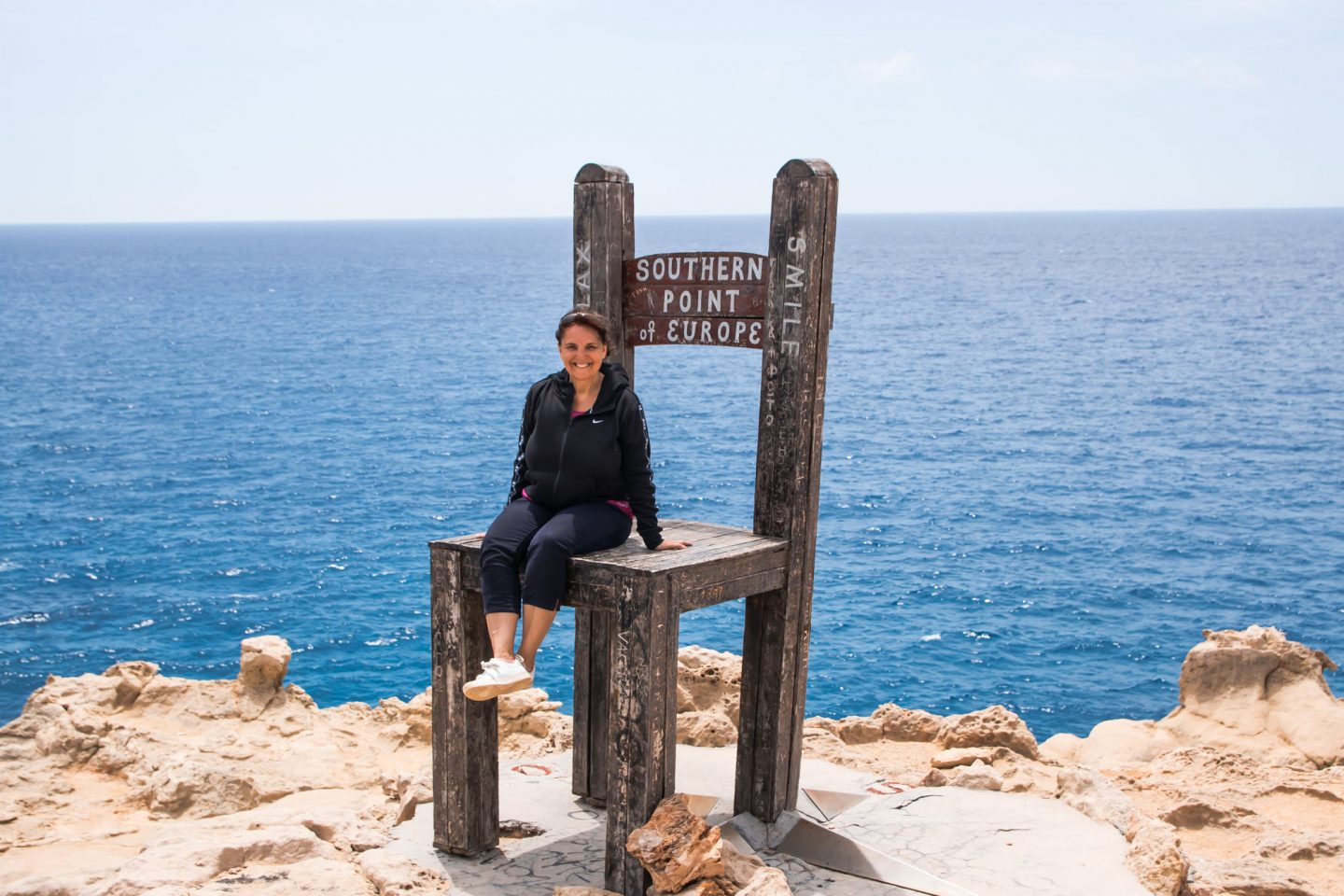 """Insel Gavdos, """"southern point of Europe"""""""