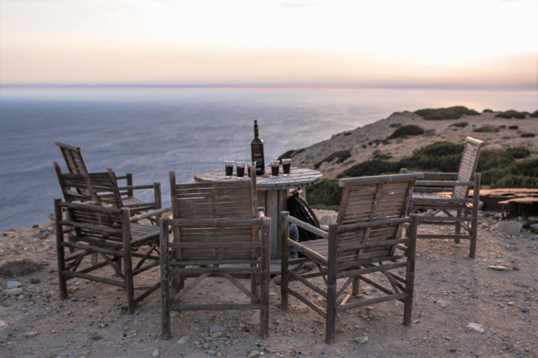 Sonnenuntergang beim Leuchtturm - Insel Gavdos