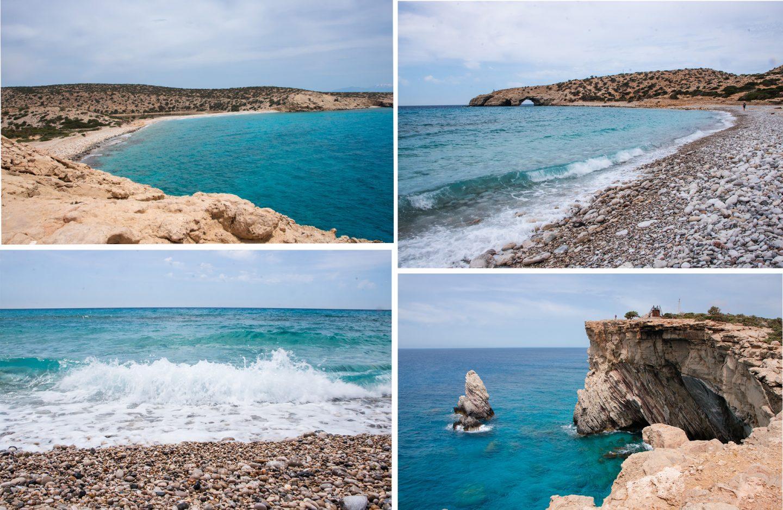 Insel Gavdos, Trypiti Strand + südlicster Punkt Europas