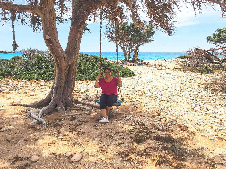 Insel Gavdos, Trypiti Strand