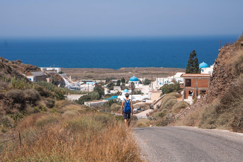 Thirassia - das Dorf Potamos